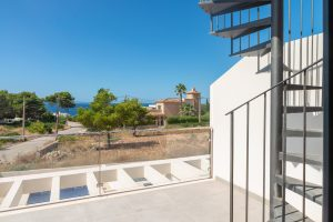 toller Meerblick von Neubau Immobilie Mallorca