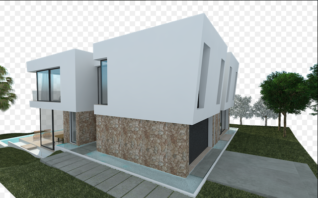 Außenansicht Render Bauprojekt Penyes 96 Cala Pi