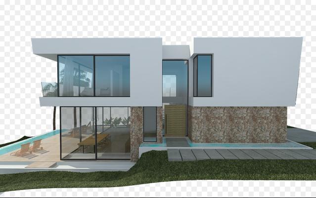 Seitenansicht Bauprojekt Penyes 96 Cala Pi